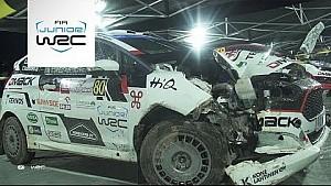 WRC 2017 Polonya Rallisi: JWRC ralli özeti
