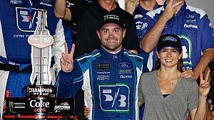 Danica, Ricky plan to celebrate fourth in style after big, big Daytona win