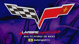 Les 24H du Mans de Larbre Competition Team !