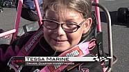 HPD Trackside -- 2017 quarter midget battle of the Brickyard lap around IMS