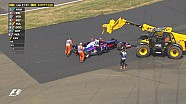 GP de Grande-Bretagne - L'accrochage des Toro Rosso