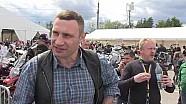 Кличко проїхав Києвом з колоною мотоциклістів і відкрив фестиваль MotoOpenFest