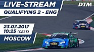 Live: Qualifying (Race 2) - DTM Moscow 2017