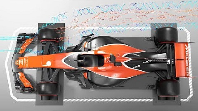 Formula 1 F1 3D airflow - the new era is upon us! (1/2)