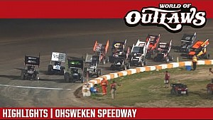 World of Outlaws Craftsman sprint cars Ohsweken speedway July 25, 2017 | Highlights