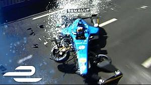 Montreal: Training, Crash von Buemi