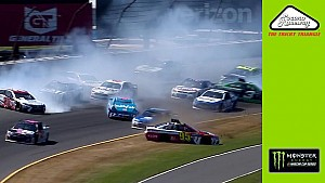 Kenseth triggers multi-car wreck on opening lap at Pocono