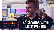 60 segundos con:el mecánico #1 Lee Stevenson