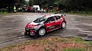 Sebastien Loeb teste la Citroën C3 WRC