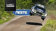 Rallye Finnland: Highlights, Action