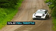 205 KPH on gravel roads? We're in. | Sébastien Ogier at WRC Rally Finland