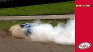 Sadler kicks up some dust