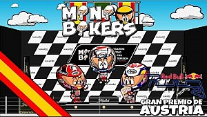 El GP de Austria 2017 de MotoGP según 'MiniBikers'