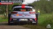 Rally Germany shakedown - Hyundai Motorsport 2017