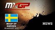 Los mejores momentos del MXGP de Suecia 2017 #motocross
