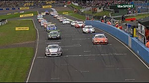 Porsche Carrera Cup GB. Knockhill rounds 10 & 11 highlights.
