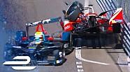 Formula E orkestrasıyla kazalar!