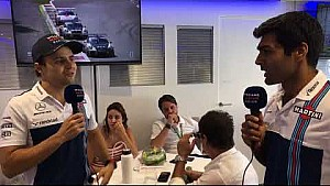 Williams TV: Felipe Massa & Lance Stroll