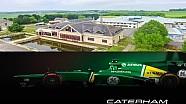 Прогулка по заброшенной базе Caterham F1