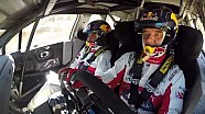 Seb Loeb & Daniel Elena testing the Citroën C3 WRC on gravel!