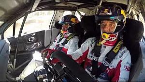 Seb Loeb & Daniel Elena testing the Citroën C3 WRC on gravel!