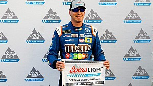 Kyle Busch discusses pole-winning lap at New Hampshire