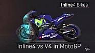 Penjelasan konfigurasi mesin #MotoGP dalam 3D