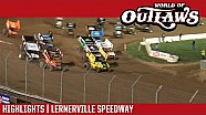 World of Outlaws Craftsman sprint cars Lernerville speedway September 23, 2017 | Highlights