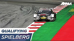 Starting-Grid with Green on Pole Positon / Qualifying 2 - DTM Spielberg 2017