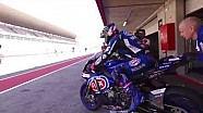 Pata Yamaha official WorldSBK team Portimao test