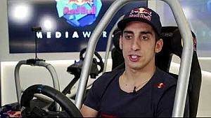 Sébastien Buemi 2017 at the Red Bull Media World in Lucerne, Switzerland