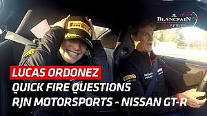 Lucas Ordonez - Nissan GT-R - Quick fire question! - Barcelona 2017