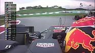 2017 Malezya GP - Palmer Spin ve Tehlikeli Çekişme Anı