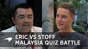 Stoffel vs Eric, batalla del conocimiento