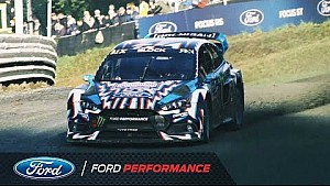FIA WRX Estering action | Ken Block & Hoonigan Racing Division | Ford Performance