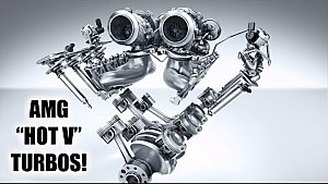 Mercedes clever turbo engine -
