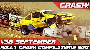 Rally crash compilation week 38 September 2017