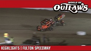 World of Outlaws Craftsman sprint cars Fulton speedway October 7, 2017 | Highlights