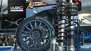Rallye Spanien: Technik, Asphalt vs. Schotter