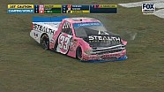 Kaz Grala crash - NASCAR Trucks at Taladega