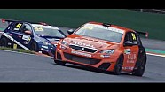 Peugeot 308 Racing Cup - Best of action 2017 season