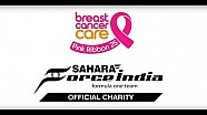 Sahara Force India for Breast Cancer care