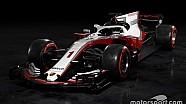 Konsep fantasi mobil Porsche F1