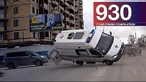 Car crash compilation 930 - October 2017