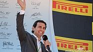 Pedro de la Rosa hace de actor para la marca DISA