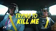 Lewis Hamilton fait un tour d'Austin avec Usain Bolt