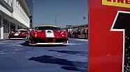 Live: Ferrari-Challenge Europa, 1. Rennen