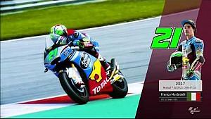 Franco Morbidelli campeón del Mundo de Moto2 2017