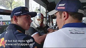Max Verstappen Mexican style, Mexico, 27/10/2017