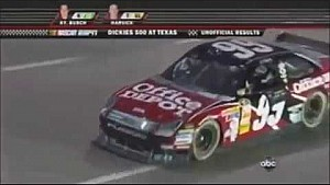 Carl Edwards sweeps Texas Motor Speedway in 2008.